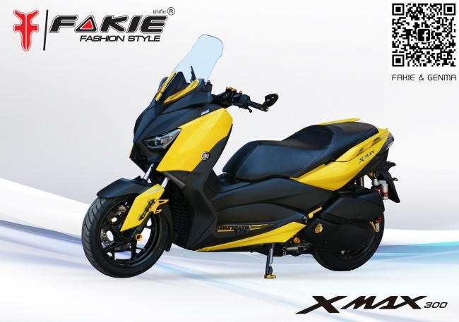 【Fakie & Genma】YAMAHA X-MAX300 排氣管防倒球 - 「Webike-摩托百貨」