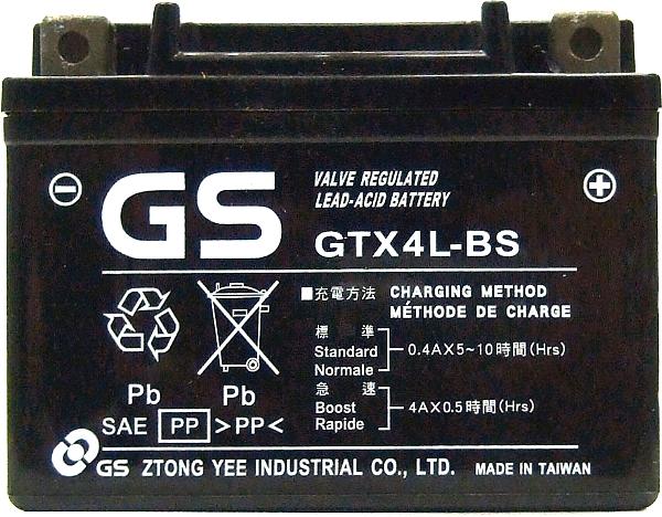GTX4L-BS 電瓶