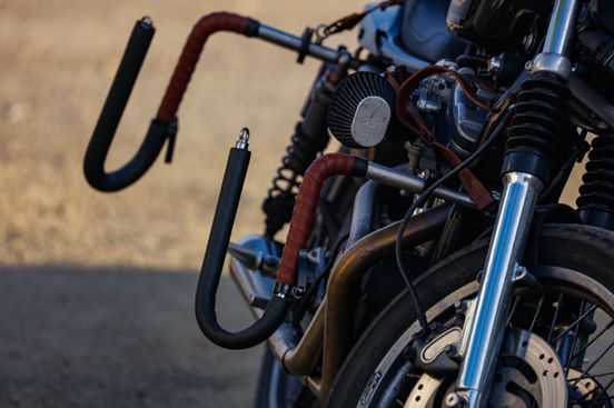 【Old Pipe】Triumph Scrambler用 Rapid衝浪板/滑板板架 - 「Webike-摩托百貨」