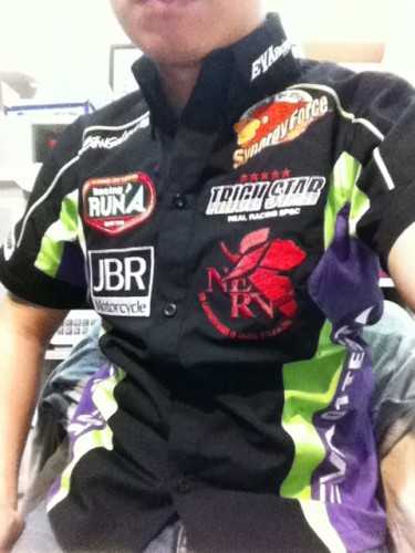 Eva racing pit 襯衫  Webike摩托百貨