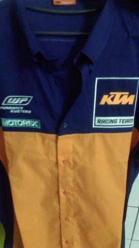 KTM REPLICA TEAM SHIRT (複刻版 廠隊 越野車衣)