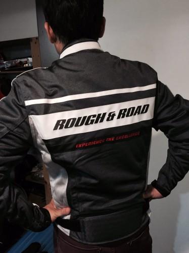 ROUGH&ROAD 騎士網格外套