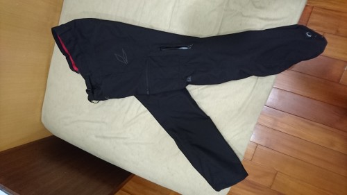RS TAICHI DRYMASTER工作褲[]BLACK[]L