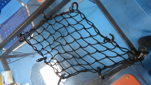 Hirochi SFLN-04-4040 旅行攜物網40cm×40cm 黒