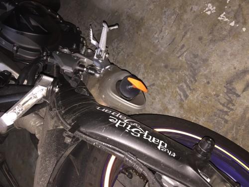 Webike Garage 排氣管塞(大)