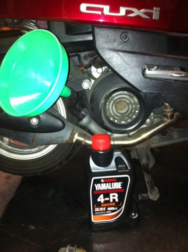 YAMALUBE 4R 省油泛用型 10W-40 四行程機油 900cc
