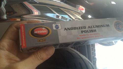 AUTOSOL 鋁合金電鍍拋光膏 75ml