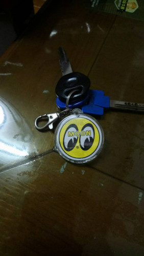經典LOGO加州紀念鑰匙圈| Webike摩托百貨