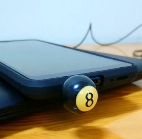 8號球造型耳機塞| Webike摩托百貨