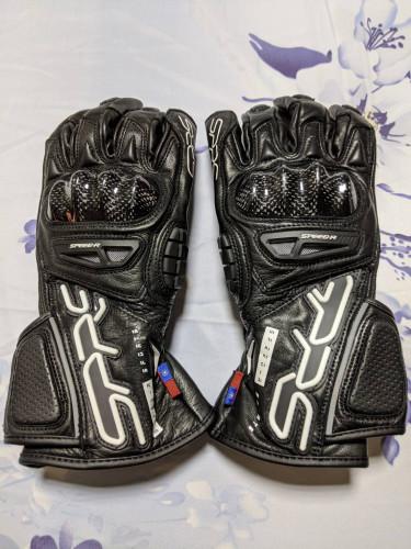 SD-R2 競技防摔長版手套 黑色| Webike摩托百貨