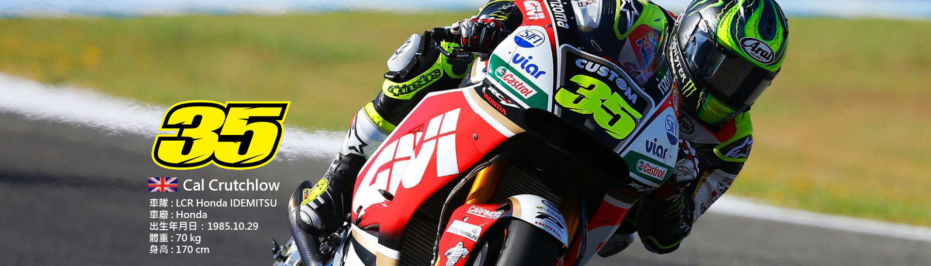 2018 MotoGP 【35】Cal Crutchlow